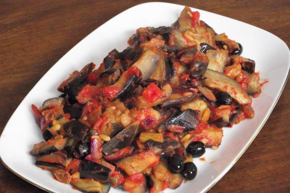 Caponata (Sicilian vegan dish)